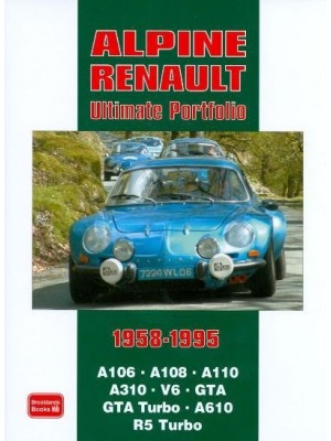 ALPINE RENAULT ULTIMATE PORTFOLIO 1958-95