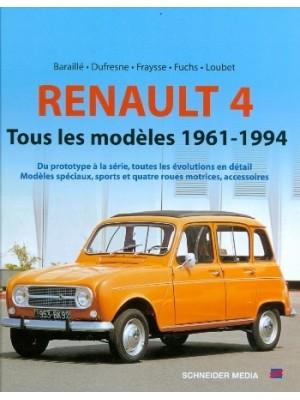RENAULT 4 : TOUS LES MODELES 1962-1994