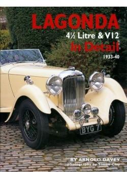 LAGONDA 4 1/2  LITRE & V12 IN DETAIL - 1933-40