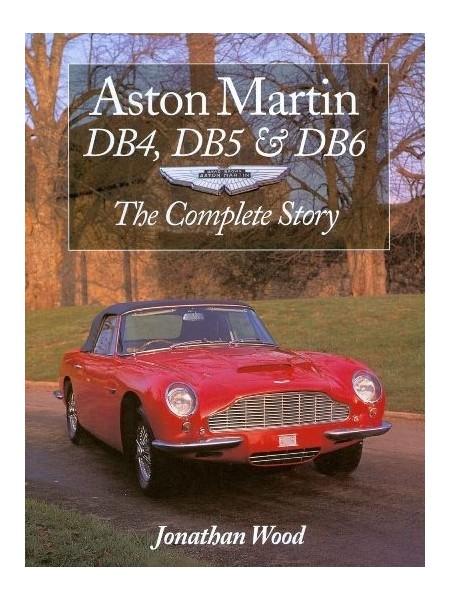 ASTON MARTIN DB4, DB5 & DB6 PAPERBACK