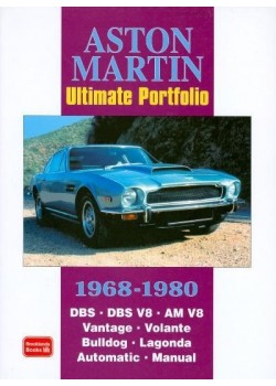 ASTON MARTIN ULTIMATE PORTFOLIO 1968-1980