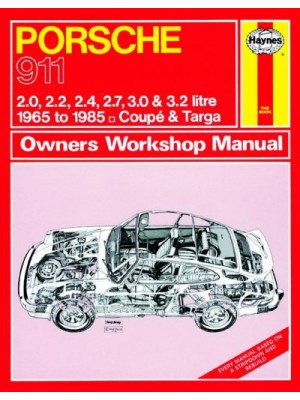 PORSCHE 911 (1965-85) - OWNERS WORKSHOP MANUAL