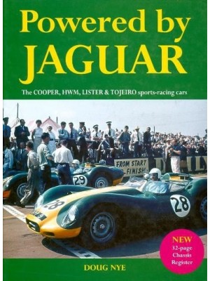 POWERED BY JAGUAR - COOPER, HWM, LISTER & TOJEIRO