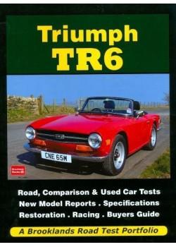 TRIUMPH TR6 ROAD TEST PORTFOLIO