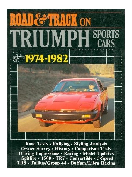 TRIUMPH SPORTSCARS 1974-1982 ROAD AND TRACK