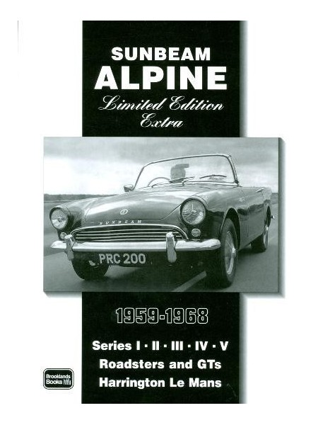 SUNBEAM ALPINE 1959-1968 LIMITED EDITION EXTRA
