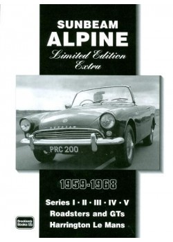 SUNBEAM ALPINE 1959-1968 LIMITED EDITION EXTRA