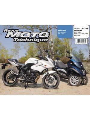RMT157 PIAGGIO MP3 400ie LT 09-10 / YAMAHA XJ6 N-NA-Diversion 09-10