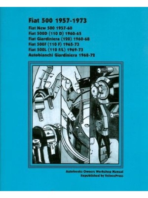 FIAT 500 1957-73 OWNERS WORKSHOP MANUAL