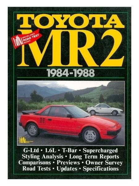 TOYOTA MR2 1984-88 - ROAD TEST BOOK