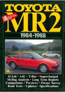 TOYOTA MR2 1984-88 - ROAD TEST BOOK