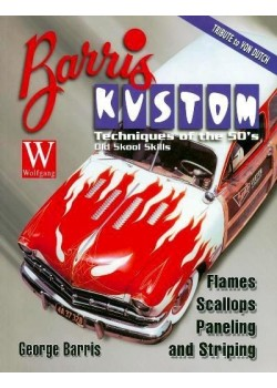 BARRIS KUSTOM TECHNIQUES : FLAMES SCALLOPS PANELLING & STRIPING