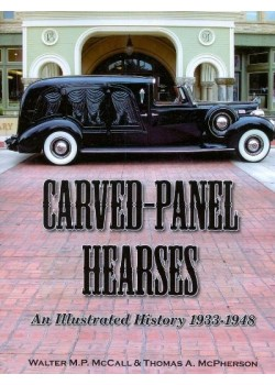 CARVED PANEL HEARSES 1933-48 - AN ILLUSTRATED HISTORY