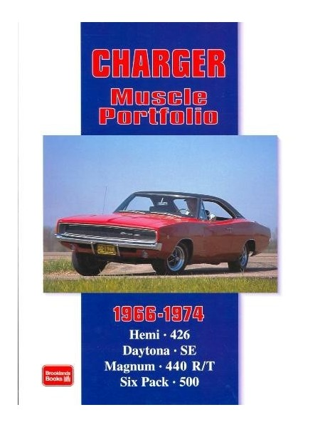 DODGE CHARGER 1966-1974 MUSCLE PORTFOLIO