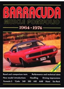 PLYMOUTH BARRACUDA MUSCLE PORTFOLIO 1964-1974