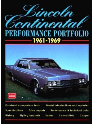 LINCOLN CONTINENTAL PERFORMANCE PORTFOLIO 1961-1969
