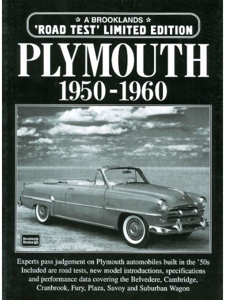PLYMOUTH 1950/60 LIMITED EDITION