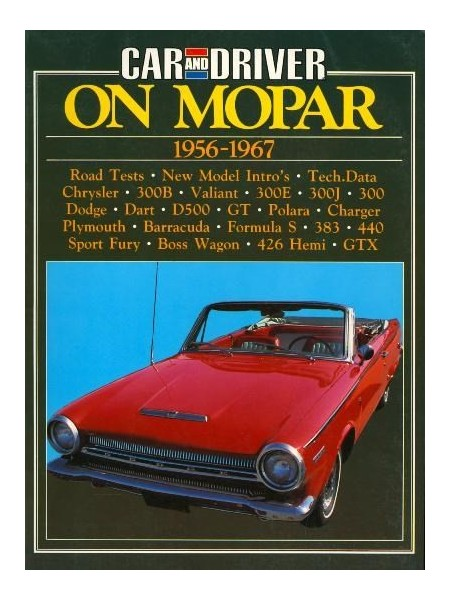 ON MOPAR 1956-1967 CAR & DRIVER