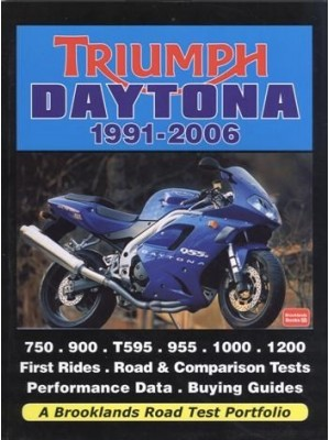 TRIUMPH DAYTONA 1991-2006 ROAD TEST PORTFOLIO