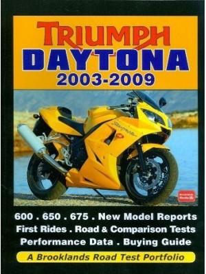 TRIUMPH DAYTONA 2003-2009 - ROAD TEST PORTFOLIO