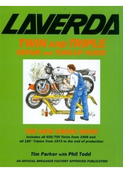 LAVERDA TWIN & TRIPLE - REPAIR AND TUNE-UP GUIDE