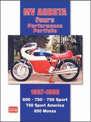 MV AGUSTA FOURS PERFORMANCE PORTFOLIO 1967/80