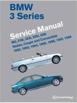 BMW 3 SERIES WORSHOP MANUAL 1992-1998 (E36)