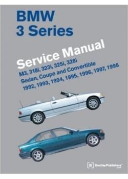 BMW 3 SERIES WORSHOP MANUAL 1992-1998 (E36)