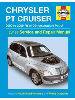CHRYSLER PT CRUISER PETROL 2000-09 HAYNES SERVICE AND REPAIR MANUAL