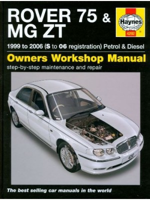 ROVER 75 & MG ZT PETROL  AND DIESEL (02/99-06) OWNERS WORKSHOP MANUAL