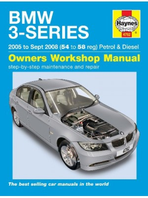 BMW 3-SERIES PETROL & DIESEL E90 & 91 2005-08 - OWNERS WORSHOP MANUAL