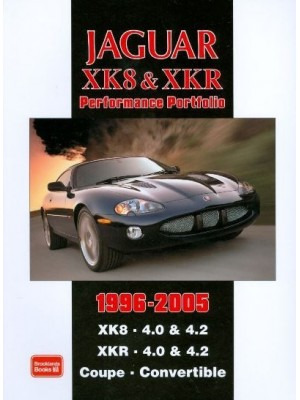JAGUAR XK8 XKR PERFORMANCE PORTFOLIO 1996-2005