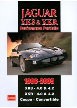 JAGUAR XK8 XKR PERFORMANCE PORTFOLIO 1996-2005