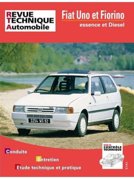 RTA714 FIAT UNO E JUSQU'A 95 - D & TD JUSQU'A 90 - FIORINO D 1988-90