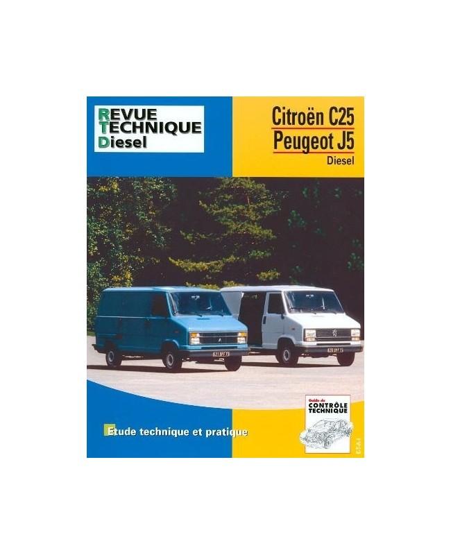 rta126 citroen c25 peugeot j5 diesel 1981 91 librairie passion automobile paris france. Black Bedroom Furniture Sets. Home Design Ideas