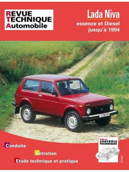 RTA435 LADA NIVA 4X4 ESSENCE ET DIESEL JUSQU'A 1994