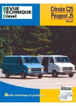 RTA126 CITROEN C25 / PEUGEOT J5 DIESEL 1981-91