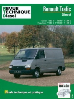 RTA122 RENAULT TRAFIC DIESEL (TRACT ET PROP) 1981-98