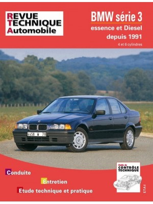 RTA725 BMW SERIE 3 ESSENCE (1991-93) & DIESEL  (1991-96)