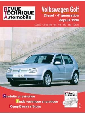 RTA622 VOLKSWAGEN GOLF IV DIESEL SDI-TDI 90 ET 110 CH 1998-2003