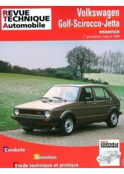RTA731 VOLKSWAGEN GOLF SIROCO ET GTI 1974-84
