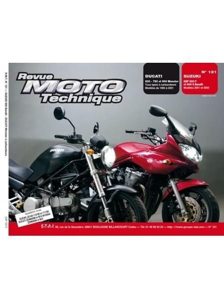 RMT121 SUZUKI GSF 600 BANDIT 93-01 / DUCATI 600 A 900 MONSTER 93-01