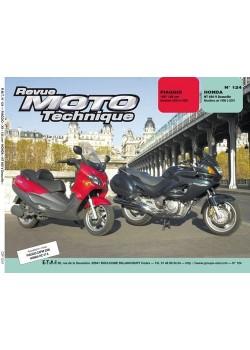 RMT124 HONDA NT 650  V DEAUVILLE 98-01 / PIAGGIO X9 125 00-01