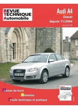 RTA695 AUDI A4 DIESEL 1.4 ET 2.0 TDI DEPUIS 11/2004