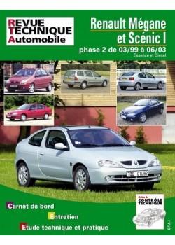 RTA120 RENAULT MEGANE/SCENIC ESS/DIESEL jusqu'à 2003