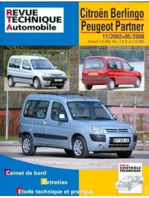 RTA111 CITROEN BERLINGO PEUGEOT PARTNER 11/02 A 05/08