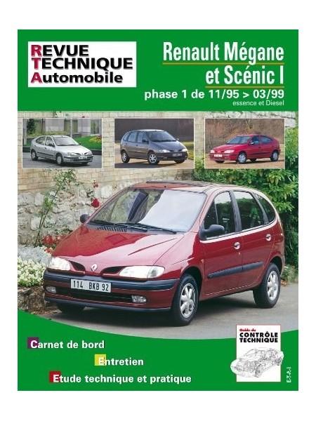 RTA119 RENAULT MEGANE ET SCENIC ESS/DIESEL JUSQU'EN 1999