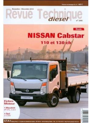 RTD286 NISSAN CABSTAR 110 ET 130 CH