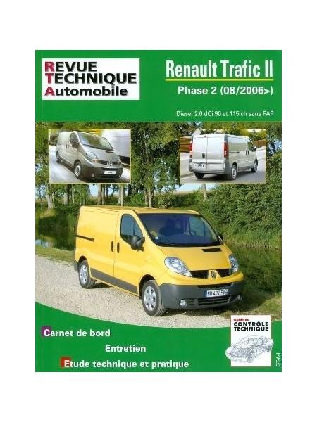 RTAB755 RENAULT TRAFIC II 2.0 DCI (90 et 115) depuis 08/2006