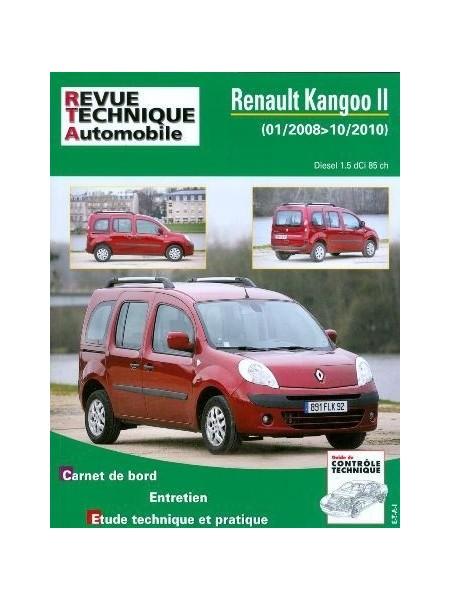 RTAB765 RENAULT KANGOO II 1.5 dCI 85ch 02/2008 à 10/2010